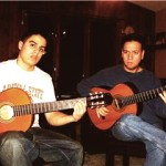 VAL with his best flamenco guitar student Jeremy Rabin